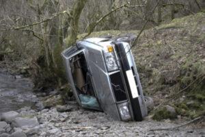 overturned vehicle, Gilreath Auto Accidents Blog