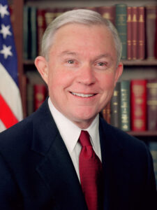 Jeff Sessions Official Portrait: RedLawList Legal Blog