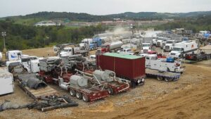 Range Resources fracking operations