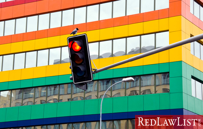 red light accidents